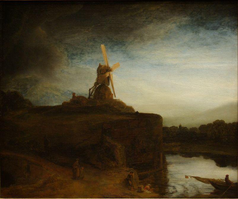 Rembrandt - Kvarnen 1645-48