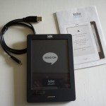 Kobo Touch uppackad